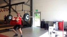 100kg i squat clean