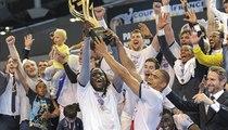 PSG Handball - Chambéry : la joie des Parisiens
