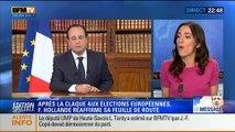 Le Soir BFM: Allocution de François Hollande: Malgré la déroute aux européennes, le président réaffirme sa feuille de route - 26/05