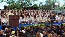 Il Papa conclude il suo viaggio in Terra Santa esortando alla pace