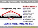Peoria Appliance Repair (480) 351-6451