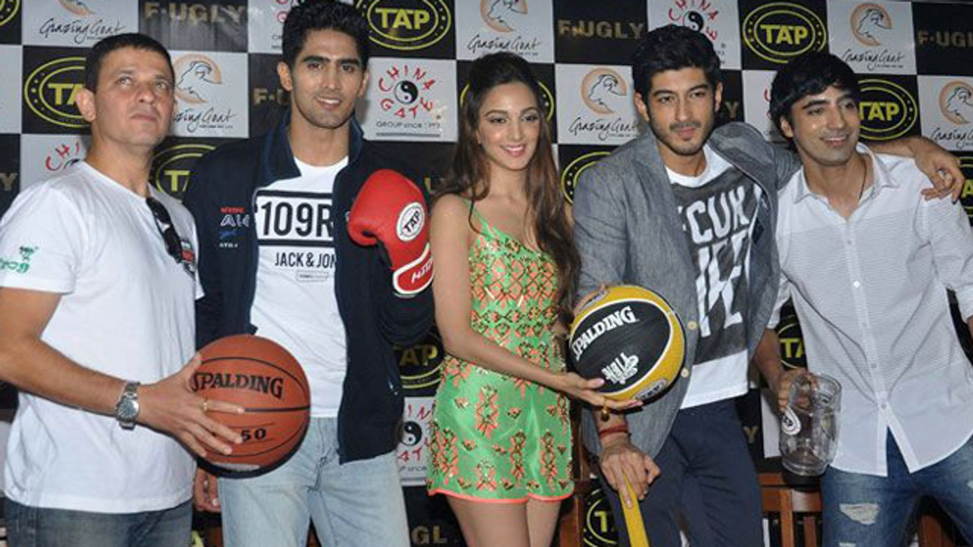 Fugly Team @ Tap Sports Bar Launch | Kabir Sadanand, Vijendra Singh, Kiara Advani