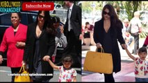Cannes 2014 Aishwarya Rai BIDS GOODBYE to Cannes 2014 along with Daughter Aradhya Bachchan