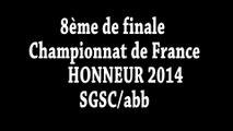 8ème finale CHAMPIONNAT DE FRANCE - SGSC - SAINT GIRONS SPORTING CLUB