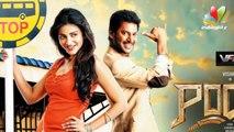 Vishal shies away while Sruthi oozes in glamour   Poojai Movie   Hot Tamil Cinema News