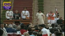 Swearing-in-Ceremony of Narendra Modi as PM of India - 26th May 2014 B