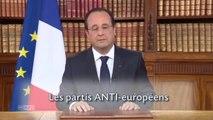 Le lapsus d'Hollande moqué sur les réseaux sociaux
