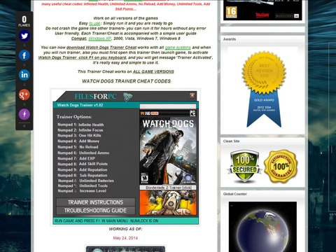 How to install watch dogs trainer cheat download