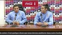 Coupe du monde Brésil 2014 - Uruguay : Cavani n'aime pas la figurine qui le représente et il le fait savoir !