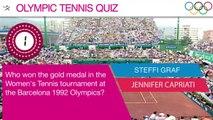 Olympic Tennis Quiz - Question 2   Olympic Quiz