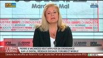 Françoise Gri, directrice générale du groupe Pierre & Vacances Center Parcs, dans Le Grand Journal - 27/05 1/4