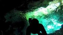 Ray of Light - Freediving Cenotes Mexico