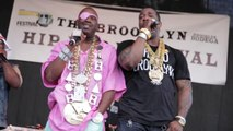 Brooklyn Hip-Hop Festival '12 Busta Rhymes and Slick Rick perform Children's Story