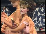 """Yasmine le Bon, Naomi, Kate Moss"" at Vivienne Westwood Fashion Show ""Erotic Zones"" 1995"