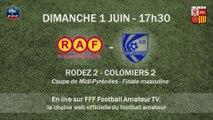 Coupe de Midi-Pyrénées - Finale hommes seniors : Rodez AV 2 vs Colomiers US 2