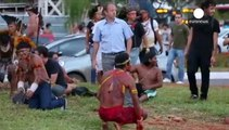 Indigenous Brazilians take anti-World Cup protests to Brasilia