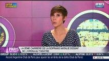 """Le Paris de Liat Cohen et Natalie Dessay, artistes pour la sortie de l'album """"Rio -Paris"""" chez Warner, dans Paris est à vous – 29/05"""