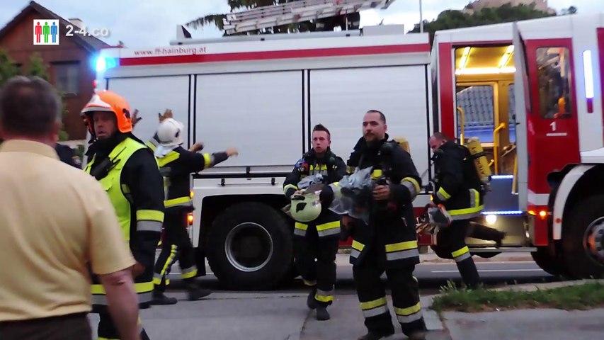 Essen am Herd verbrannt - Einsatz für Florianijünger (HD)