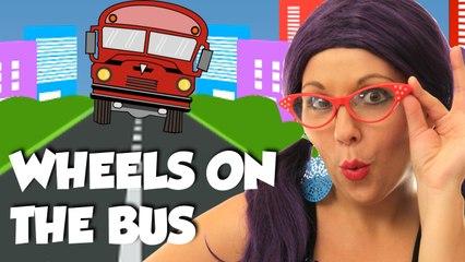 Wheels on the Bus Nursery Rhyme Song