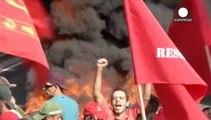 Brésil : la colère ne faiblit pas à 16 jours du Mondial