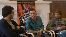 Trois talents The Voice au Courrier picard