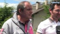 Réunion des directeurs sportifs au départ 17e étape du Tour d'Italie - Giro d'Italia 2014
