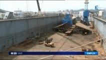 Déconstruction navale à La Seyne