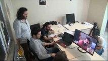 Anti-Assad activists campaign against voting