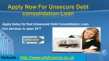Guaranteed Unsecure Debt Consolidation Loans for UK People with Bad Credit