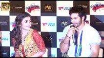 Alia Bhatt & Varun Dhawan's HOT KISS in Humpty Sharma Ki Dulhania(NEWS)