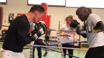 """Boxing Ski à Serre Che """"Des amateurs s'entraînent avec des Champions """""""