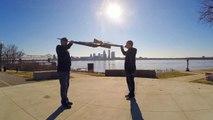 Rifle Drill demo! Amazing GoPro footage!