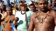 Protestas indígenas en Brasil