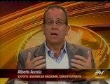 Entrevista Alberto Acosta / Contacto Directo