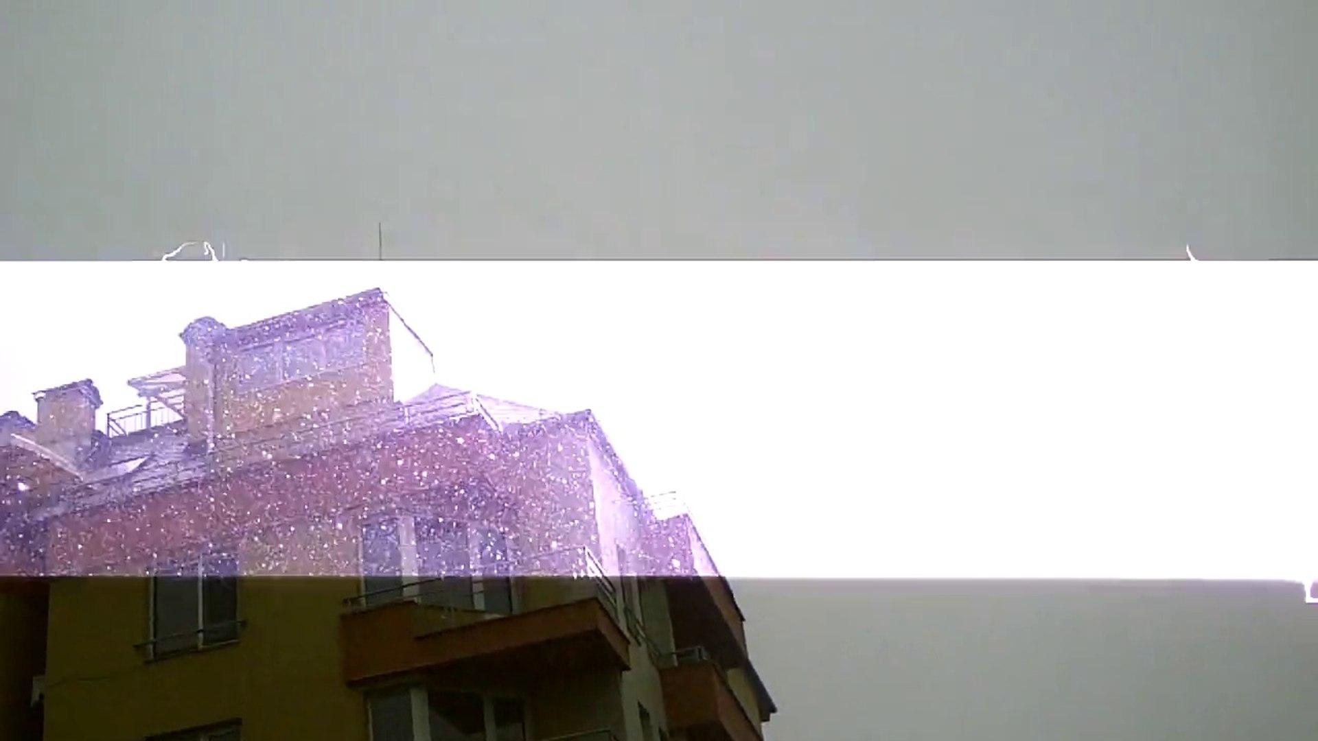 Силна гръмотевица в София - 29.05.2014