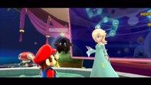 Super Mario Galaxy - Galaxie fantôme - Étoile 1 : A la rescousse de Luigi dans le manoir hanté