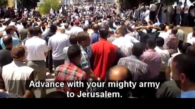 Rally at Al-Aqsa Mosque Calls on Pakistan Army to Liberate Jerusalem