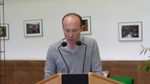 2014 05 29 La 38ème foire des potiers à Bussière-Badil, discours de Sébastien Panis, second vice-president d'Atelier d'Art de France