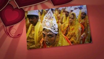 Dünyanın farklı yerlerinden evlilik törenleri