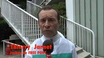 Interview de Thierry Jarnet, jockey de FREE PORT LUX