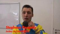 Interview de Stéphane Pasquier, jockey de KARAKONTIE