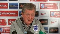 Roy Hodgson impressed by England squad