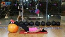 Karın ve kalçayı çalıştıracak kadınlara özel egzersizler