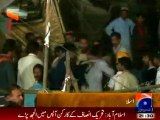 worst discipline of PTI workers in Islamabad dharna