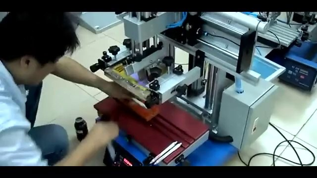 Desktop Flat Silk Screen Printer Machine Mini Flat Screen Printer