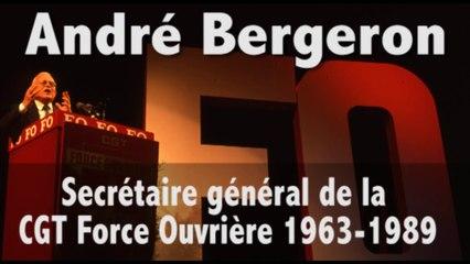 Hommage à André Bergeron