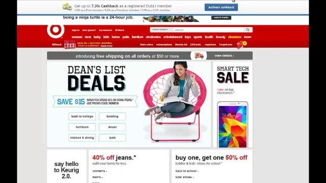 Cashback at Target | Dubli Has Cash Back Offers at Target