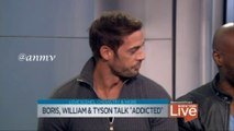 """NBC Boris, William Levy (@willylevy29) and Tyson Talk """"Addicted"""""""