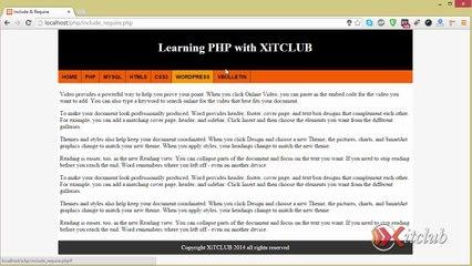 21 - Using Include & Require - PHP Tutorial in Urdu