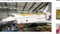 Space Shuttle Endeavour Opened For Unprecedented Movie Shoot